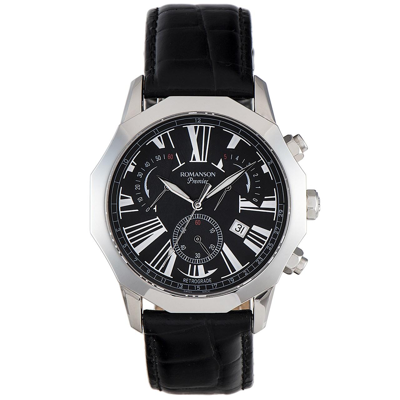 ساعت مچی عقربه ای مردانه رومانسون مدل PL6153HM1WA32W 54
