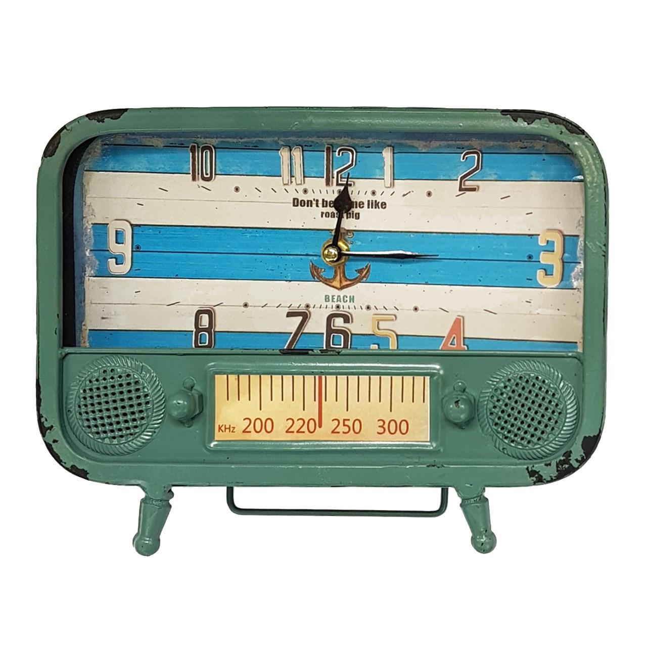 ساعت رومیزی آنتیک مدل Radio