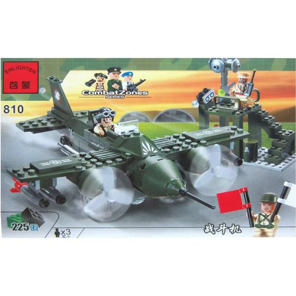 لگو ارتشی انلایتن مدل 810 تعداد 225 قطعه