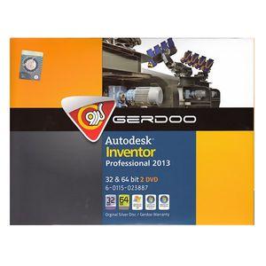 مجموعه نرمافزار گردو Autodesk Inventor Professional 2013