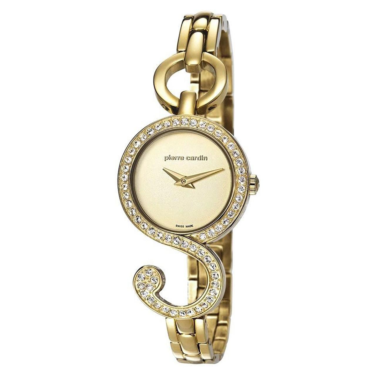 ساعت مچی عقربه ای زنانه پیر کاردین مدل PC107052S04