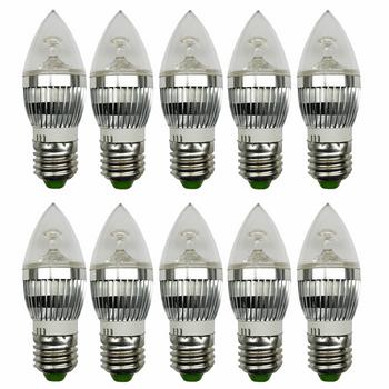 لامپ ال ای دی 3 وات بینانور مدل کریستالی پایه E27 بسته 10 عددی