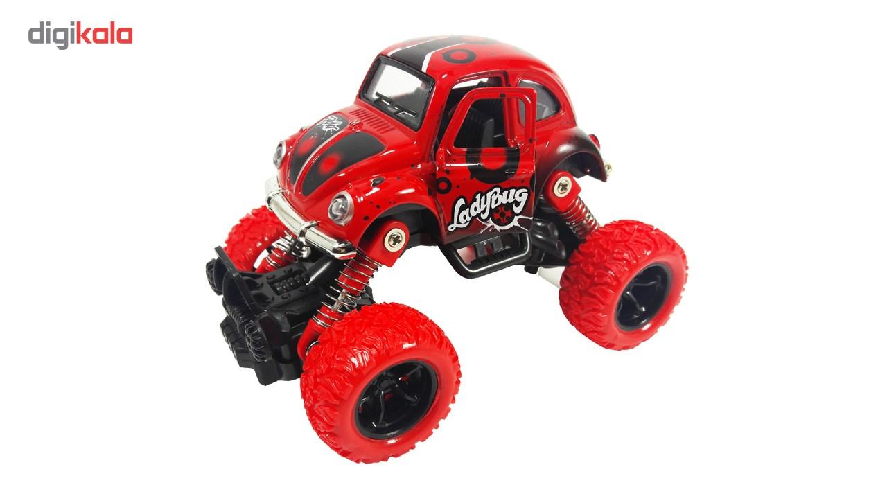 ماشین اسباب بازی آفرود مدل Ladybug main 1 1
