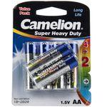 باتری قلمی کملیون مدل Super Heavy Duty بسته 6 عددی thumb
