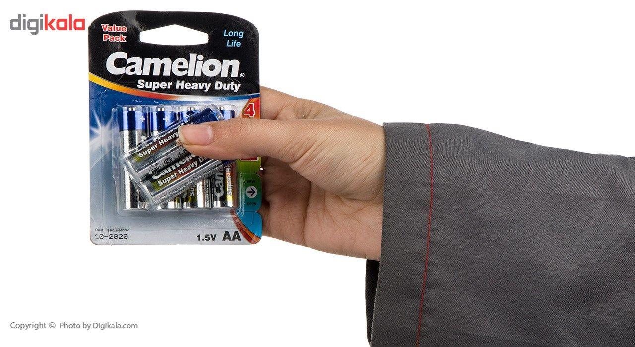 باتری قلمی کملیون مدل Super Heavy Duty بسته 6 عددی main 1 2