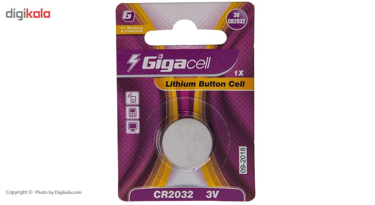 باتری سکه ای لیتیومی گیگاسل مدل CR2032 بسته 1 عددی main 1 1