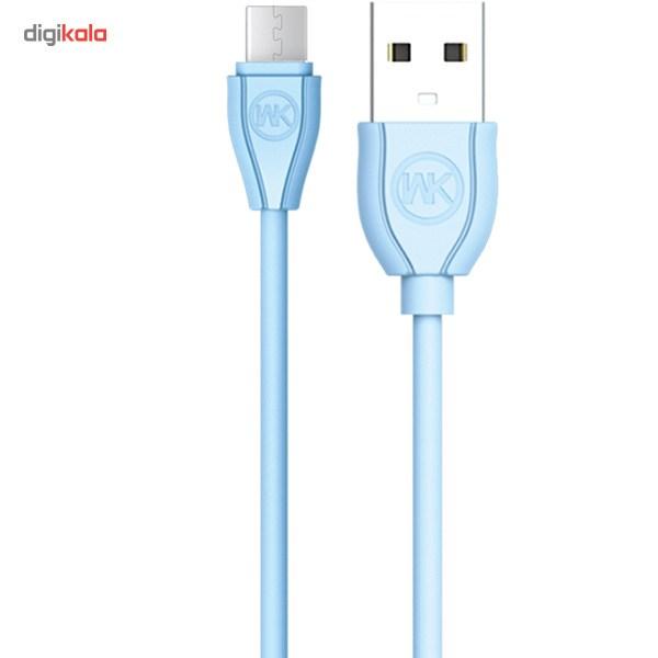 کابل تبدیل USB به microUSB دبلیو کی مدل Ultra Speed طول 1 متر main 1 4