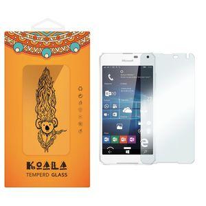 محافظ صفحه نمایش شیشه ای کوالا مدل Tempered مناسب برای گوشی موبایل مایکروسافت لومیا 650