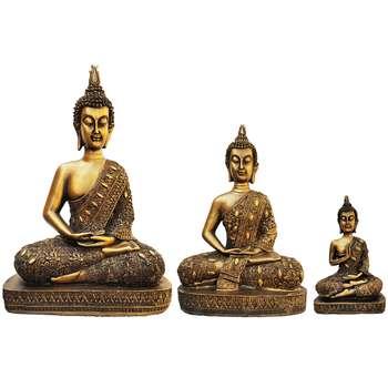 مجسمه روشا مدل بودا  مجموعه 3 عددی