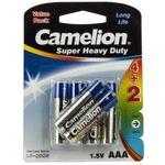 باتری نیم قلمی کملیون مدل Super Heavy Duty بسته 6 عددی thumb