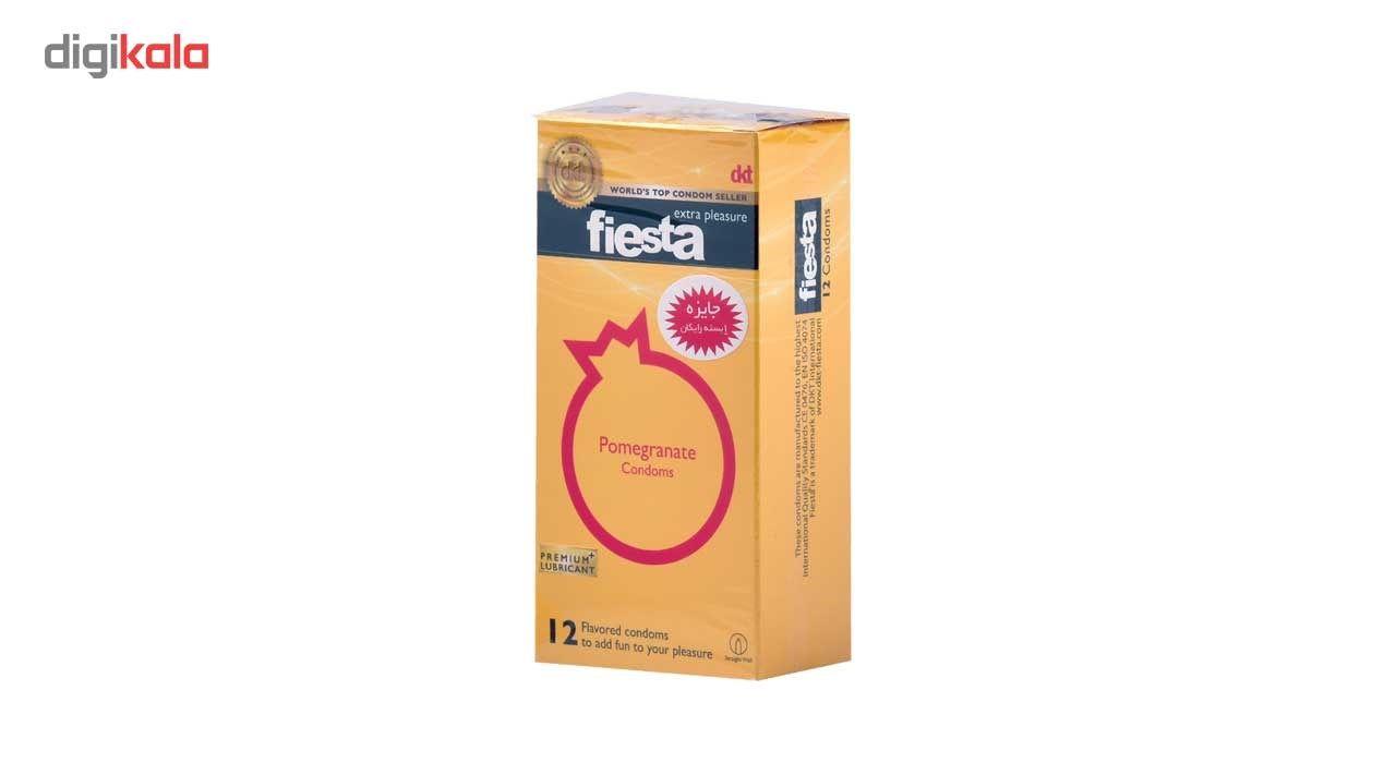 کاندوم انار تنگ کننده واژن فیستا مدل Pomegranate بسته 12 عددی main 1 1