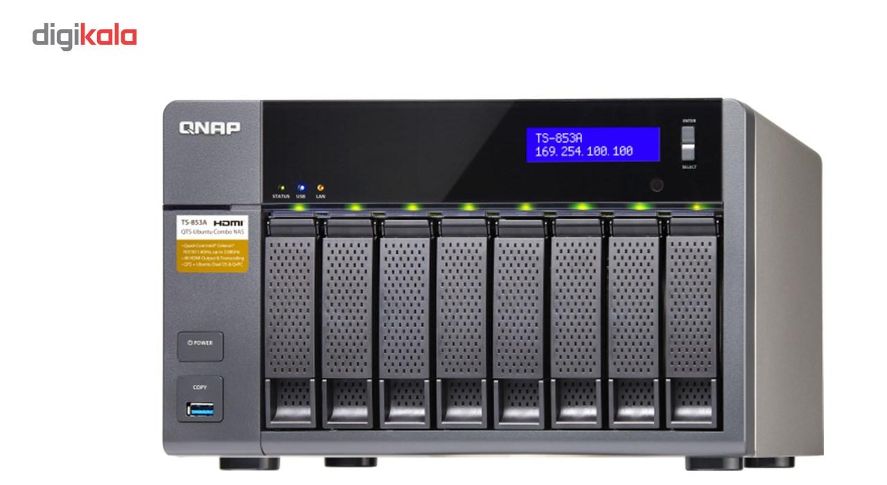 ذخیرهساز تحت شبکه کیونپ مدل TS-853A-4G