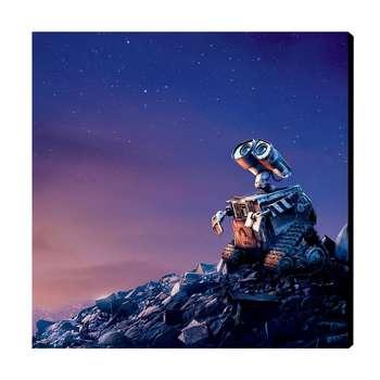 تابلو شاسی عرش مدل AS108 طرح WALL-E سایز 20x20 سانتی متر