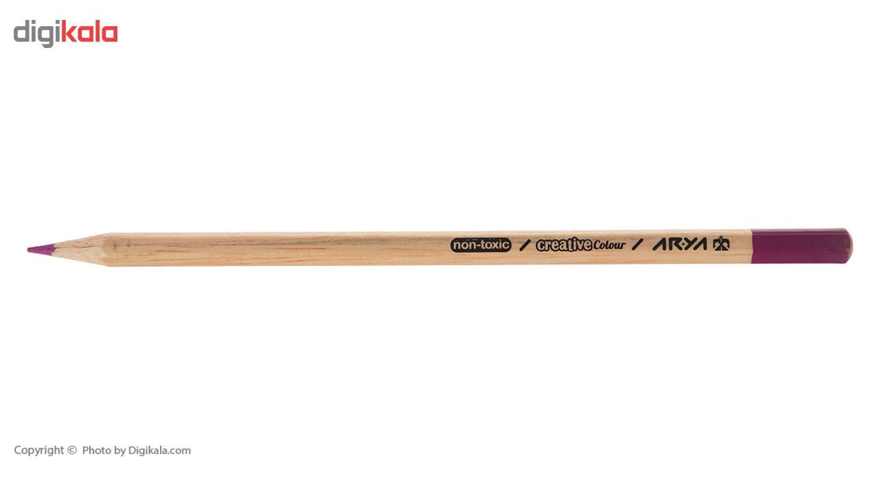 مداد رنگی 24 رنگ آریا مدل 3022 main 1 2