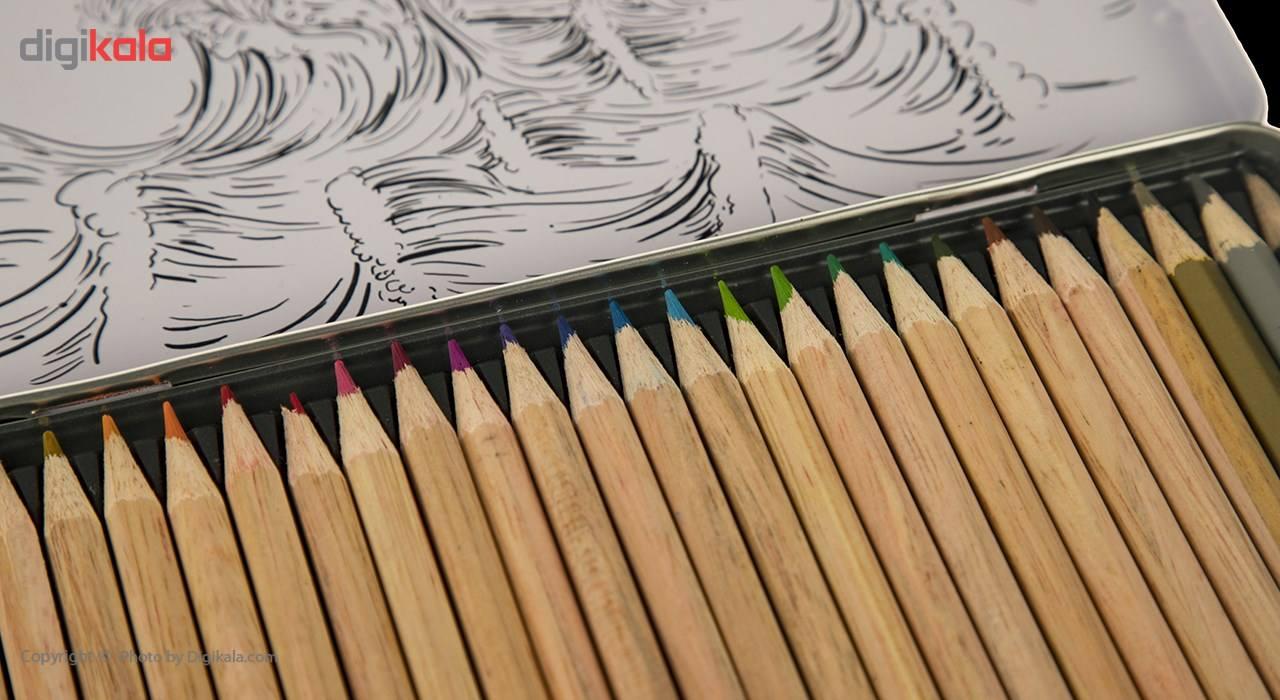 مداد رنگی 24 رنگ آریا مدل 3022 main 1 5