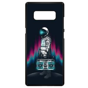 کاور چاپ لین مدل فضانورد مناسب برای گوشی موبایل سامسونگ Note 8