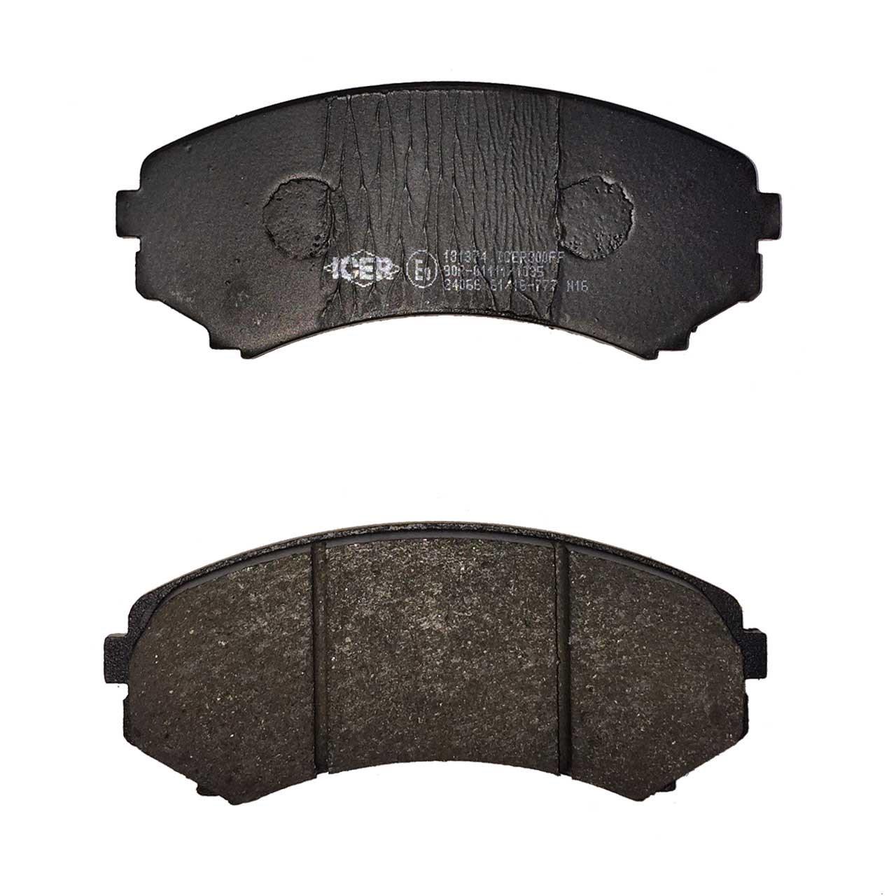 لنت ترمز جلو آیسر مدل 181374 مناسب برای میتسوبیشی پاجرو