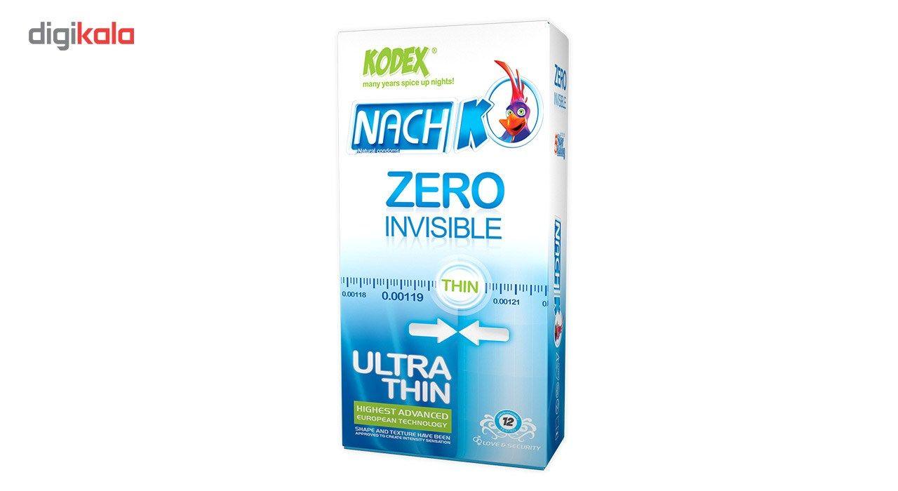 کاندوم کدکس مدل Zero Invisible بسته 12 عددی main 1 1