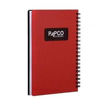 دفترچه یادداشت 100 برگ پاپکو مدل متالیک1