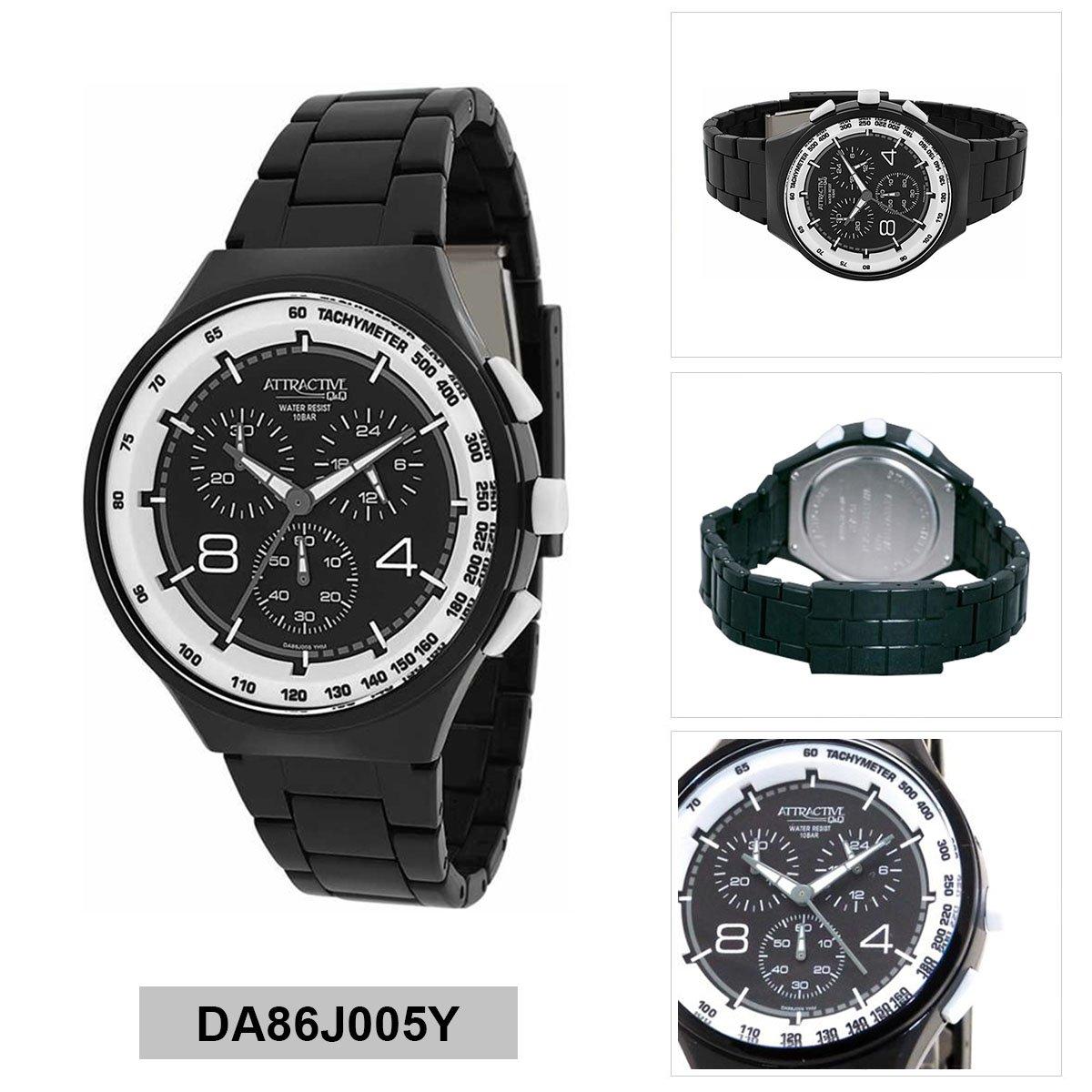 ساعت مچی عقربهای مردانه کیو اند کیو مدل  DA86J005Y