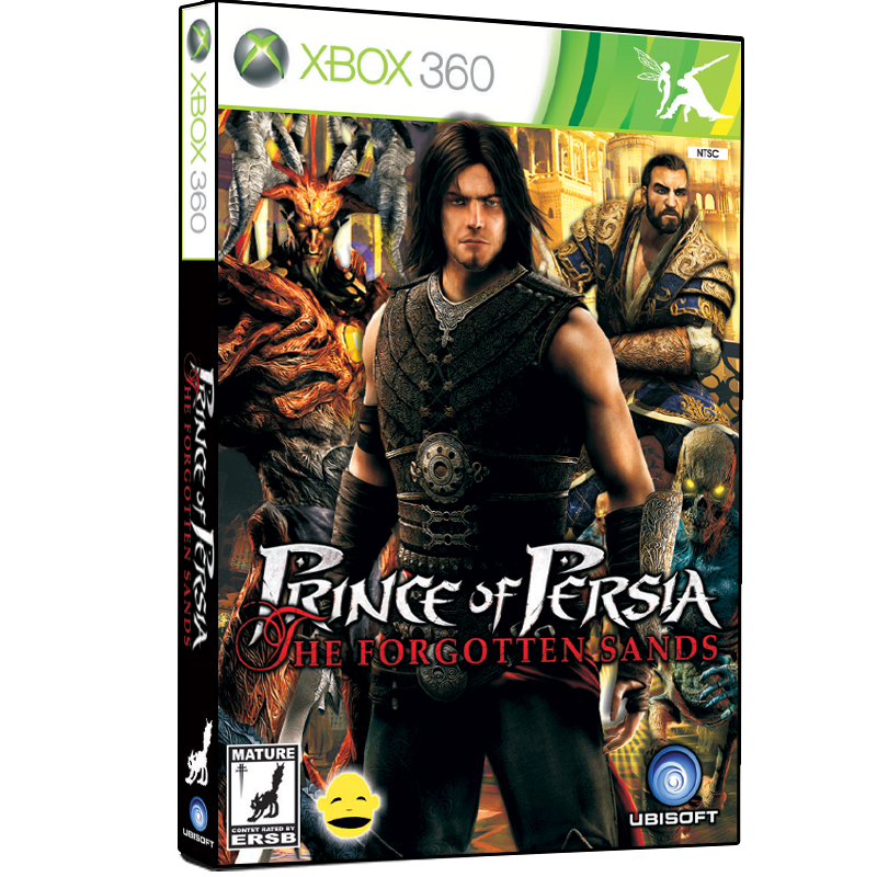 بررسی و {خرید با تخفیف}                                     بازی Prince of Persia The Forgotten Sands مخصوص XBOX 360                             اصل