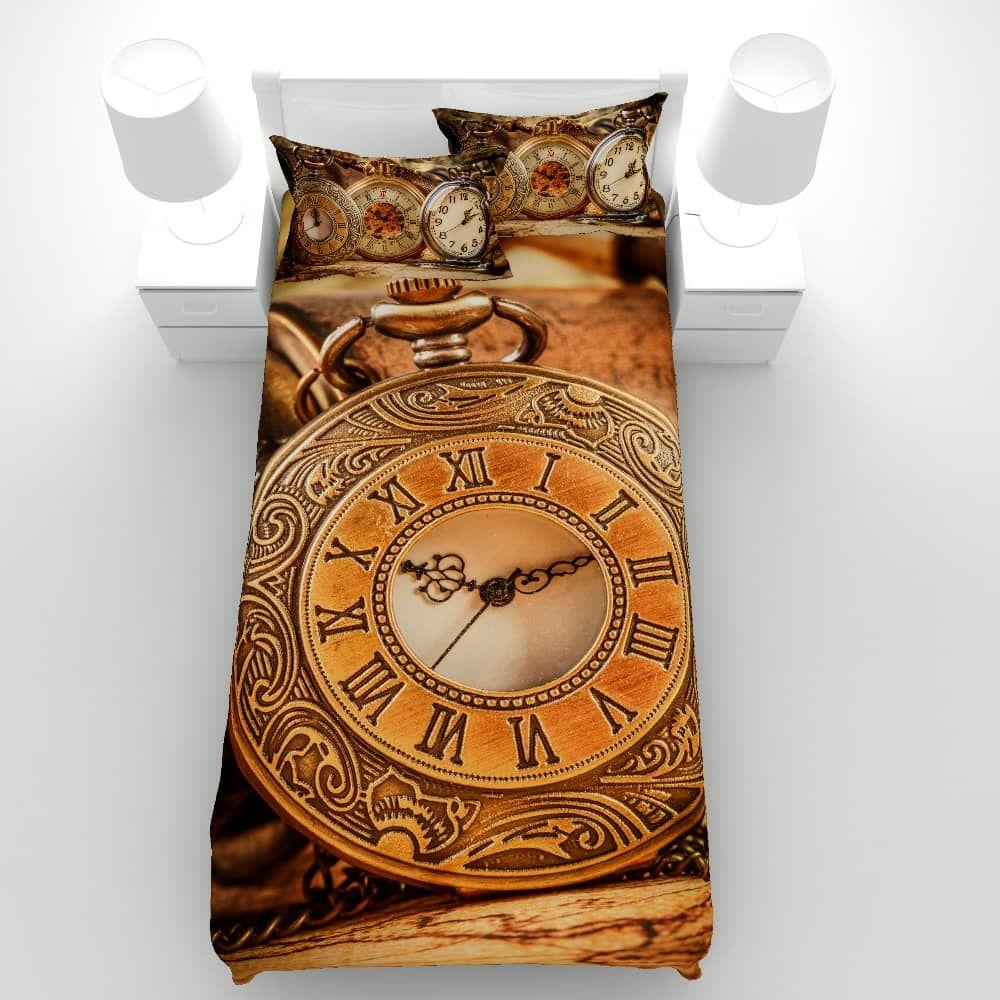 سرویس خواب مدل ساعت یک نفره 5 تکه