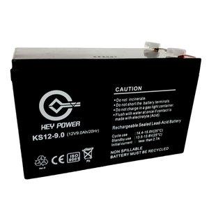 باتری یو پی اس 12 ولت 9 آمپر ساعت کی پاور مدل KS12-9.0