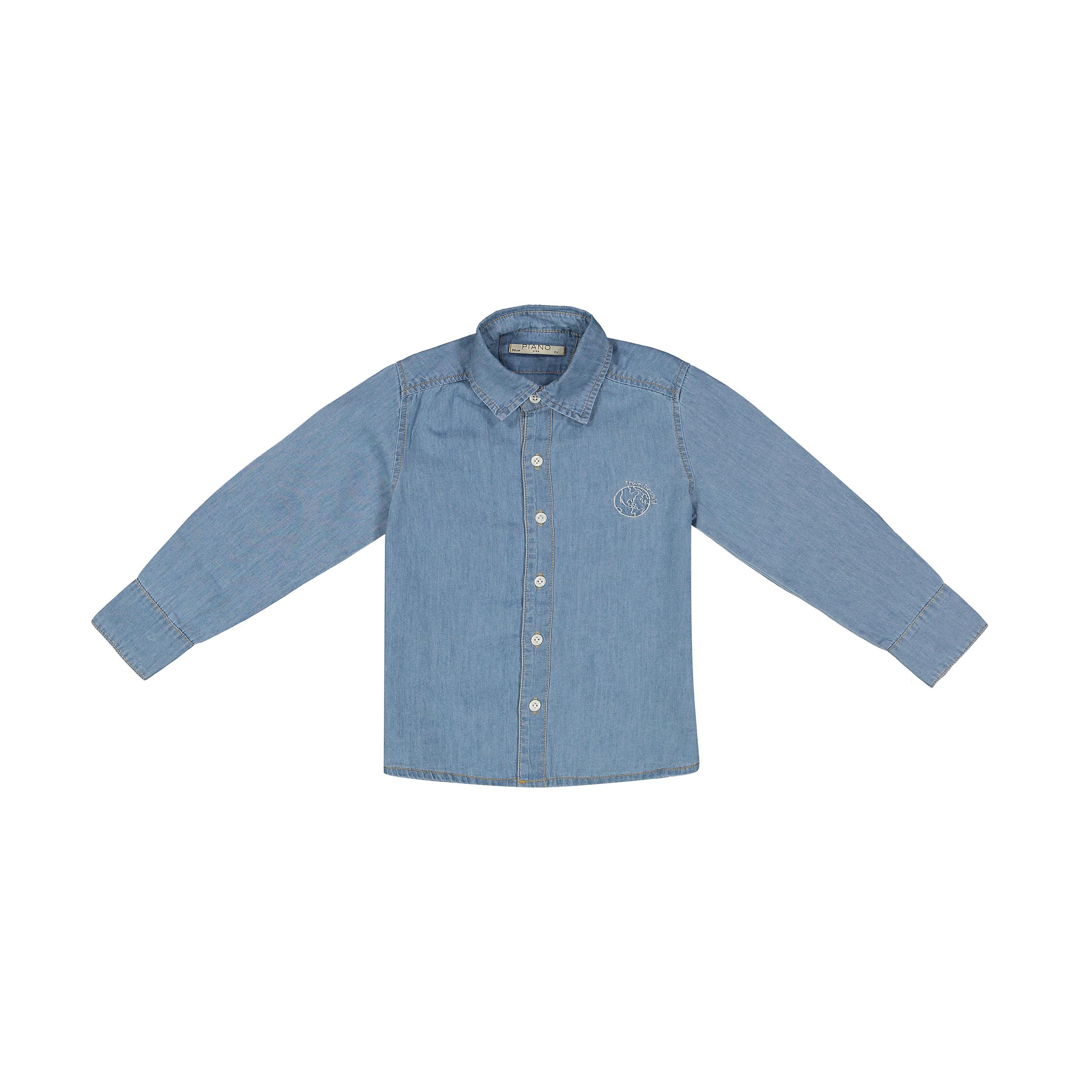 پیراهن پسرانه پیانو مدل 01172-58