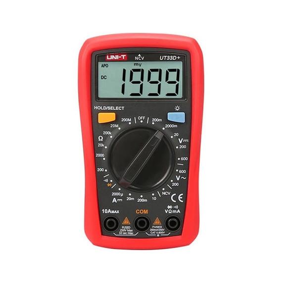 مولتی متر دیجیتال یونی-تی مدل  UT33D PLUS