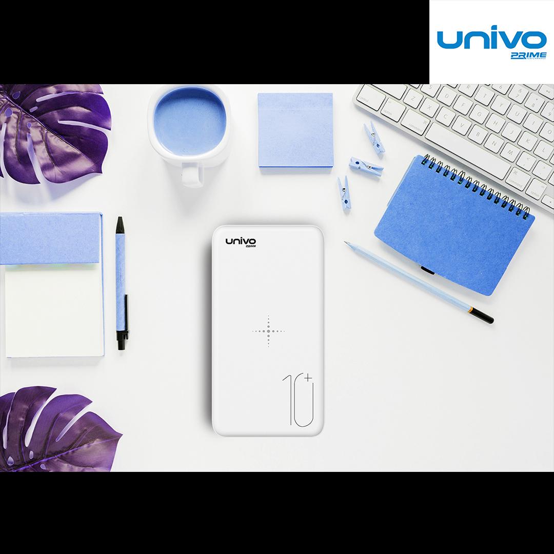 شارژر همراه یونیوو مدل UN10W ظرفیت 10000 میلی آمپر ساعت