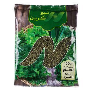 سبزی نعناع خشک نیوگرین-100گرم