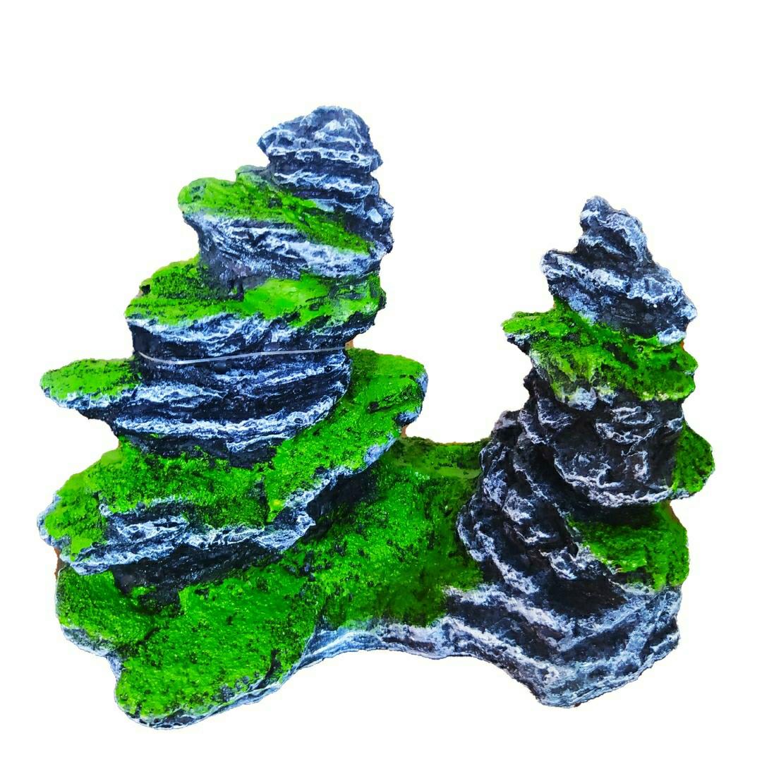 دکوری آکواریوم طرح صخره تزیینی مدل 0105