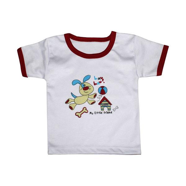 تی شرت آستین کوتاه نوزادی مدل AM 218