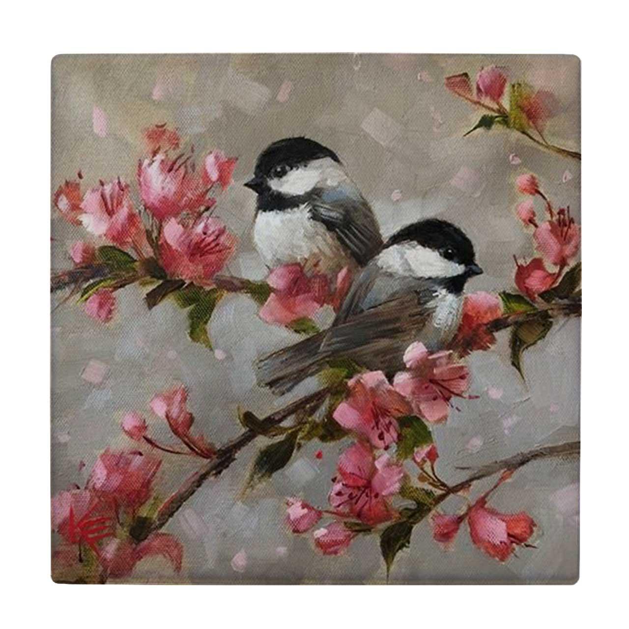 خرید                       کاشی طرح نقاشی پرنده کد wk973