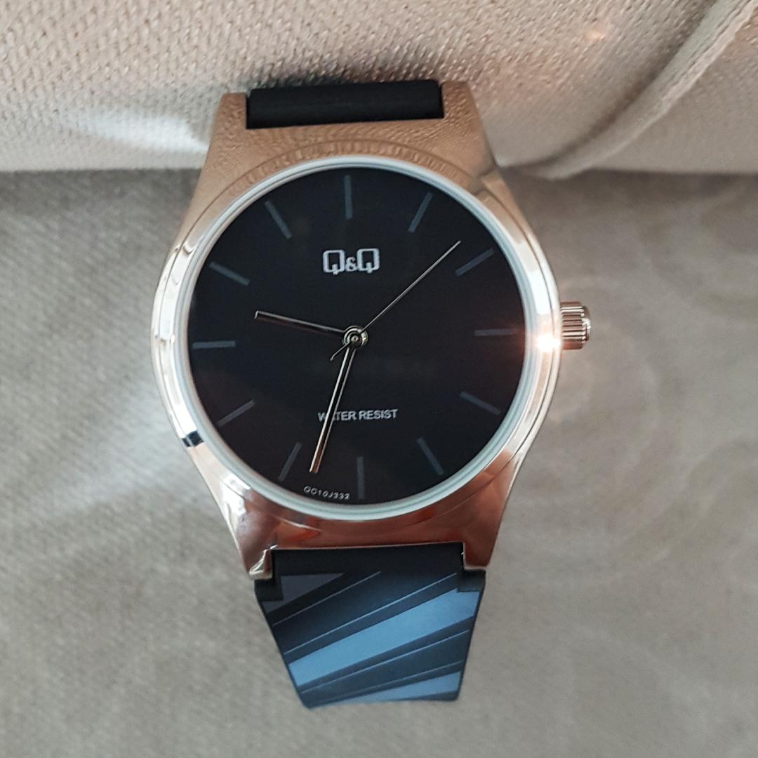 ساعت مچی عقربهای مردانه کیو اند کیو مدل qc10j332y
