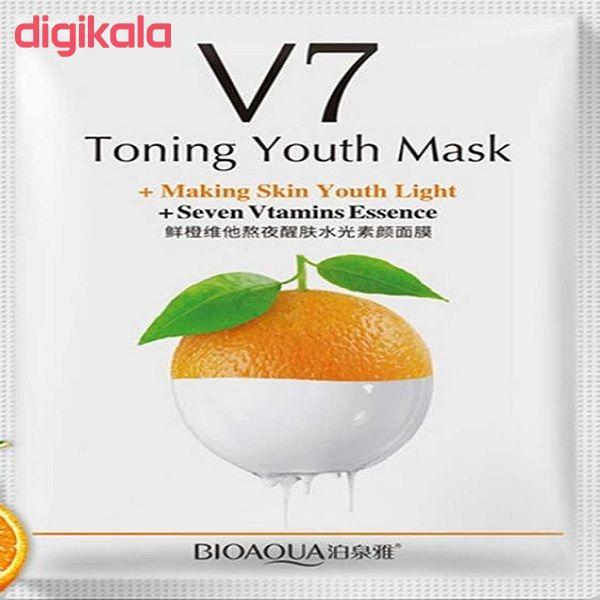ماسک صورت بایو آکوا مدل ویتامین c وزن 30 گرم main 1 1