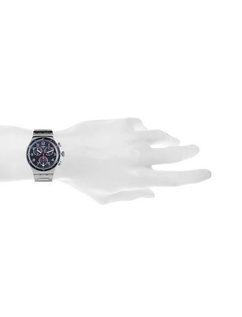ساعت مچی عقربه ای مردانه - نقره اي   - 5