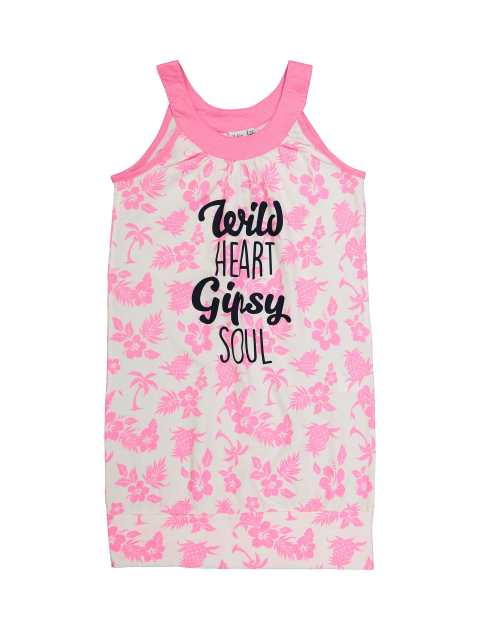 پیراهن نخی راحتی دخترانه - بلوکیدز