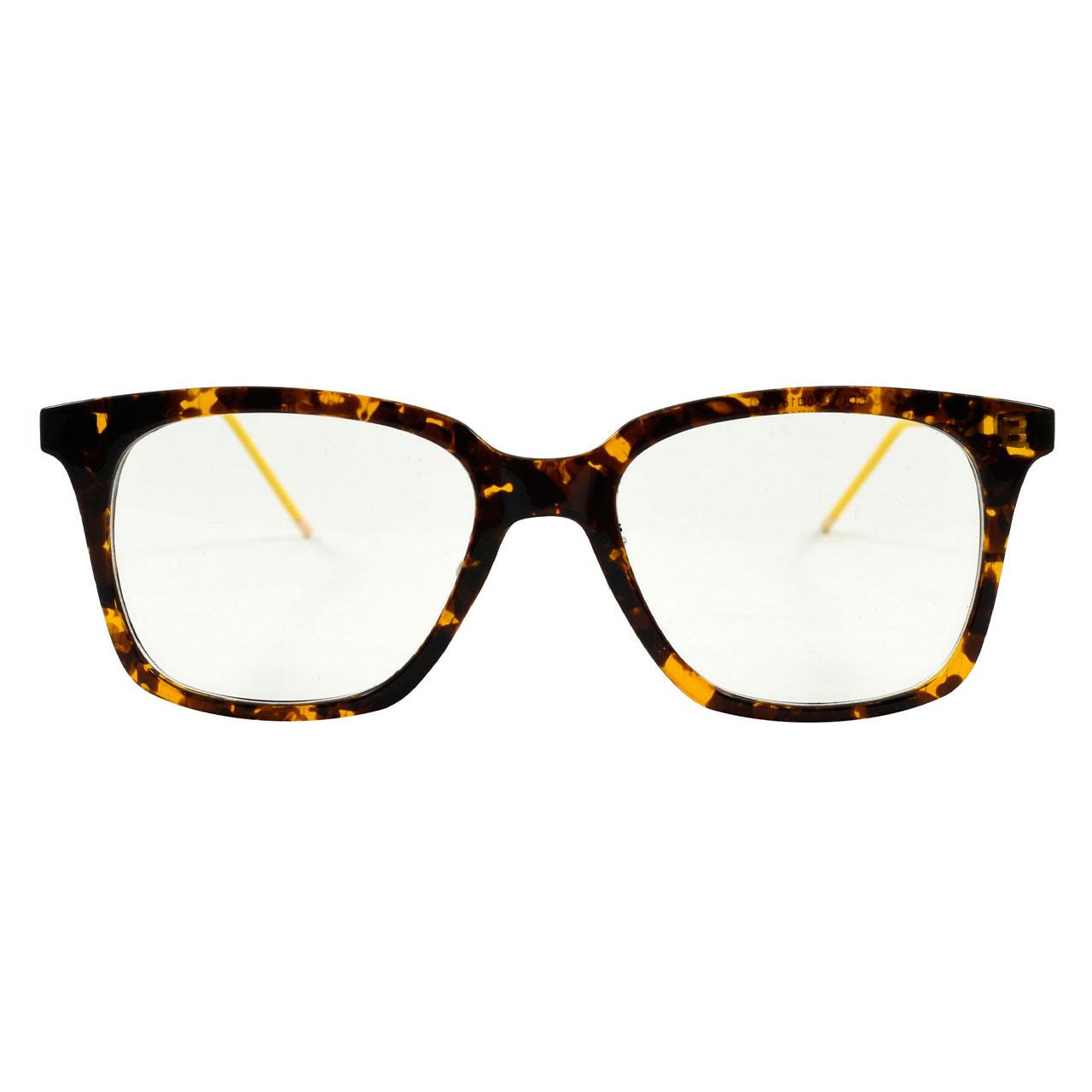 قیمت فریم عینک طبی مدل Tr90 Transparent Leopard