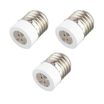 تبدیل سرپیچ لامپ هالوژنی E27 به GU5.3 مدل MR16 بسته سه عددی