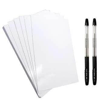 کاغذ A5 کد 105 بسته 10 عددی به همراه خودکار پایلوت مدل BPS-GP بسته دو عددی