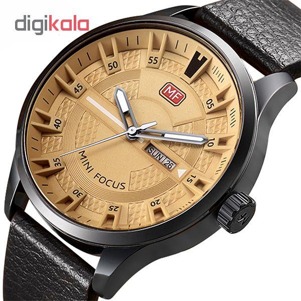 کد تخفیف                                      ساعت مچی عقربه ای مردانه مینی فوکوس مدل mf0028g.03
