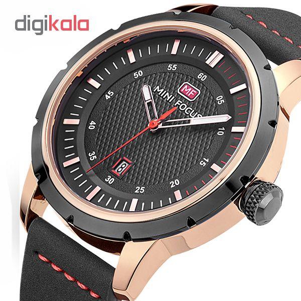 ساعت مچی عقربه ای مردانه مینی فوکوس مدل mf0014g.01