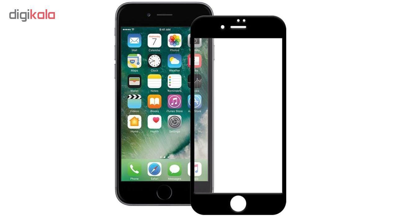 کاور سیلیکونی مدل SlC مناسب برای گوشی موبایل اپل آیفون 6/6s  به همراه محافظ صفحه نمایش 5D main 1 9