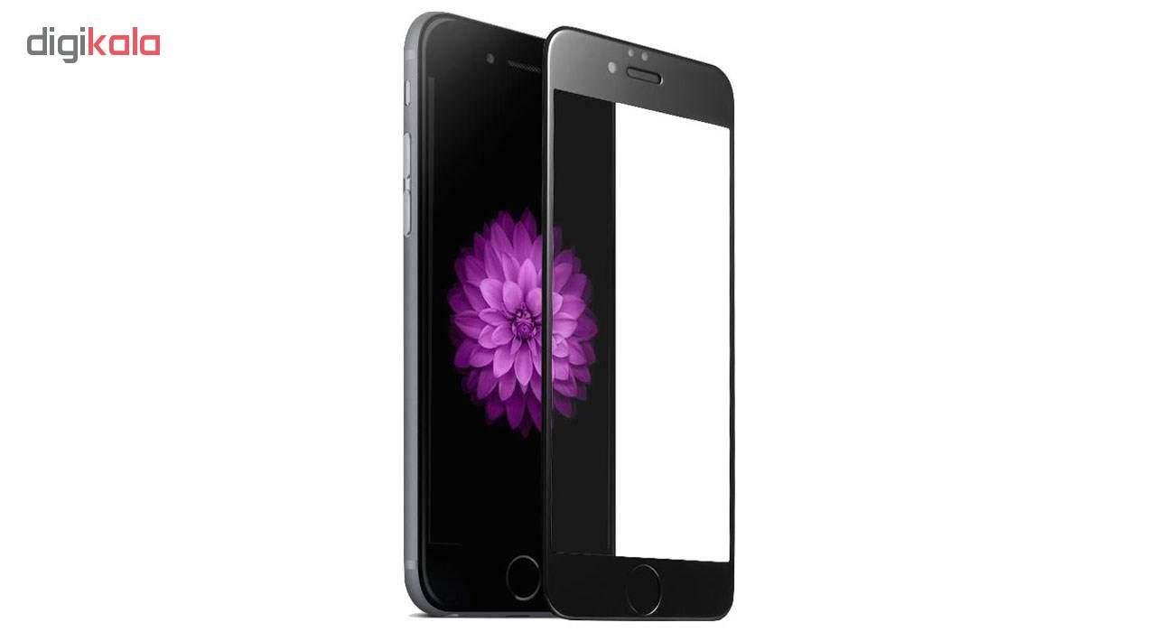 کاور سیلیکونی مدل SlC مناسب برای گوشی موبایل اپل آیفون 6/6s  به همراه محافظ صفحه نمایش 5D main 1 10