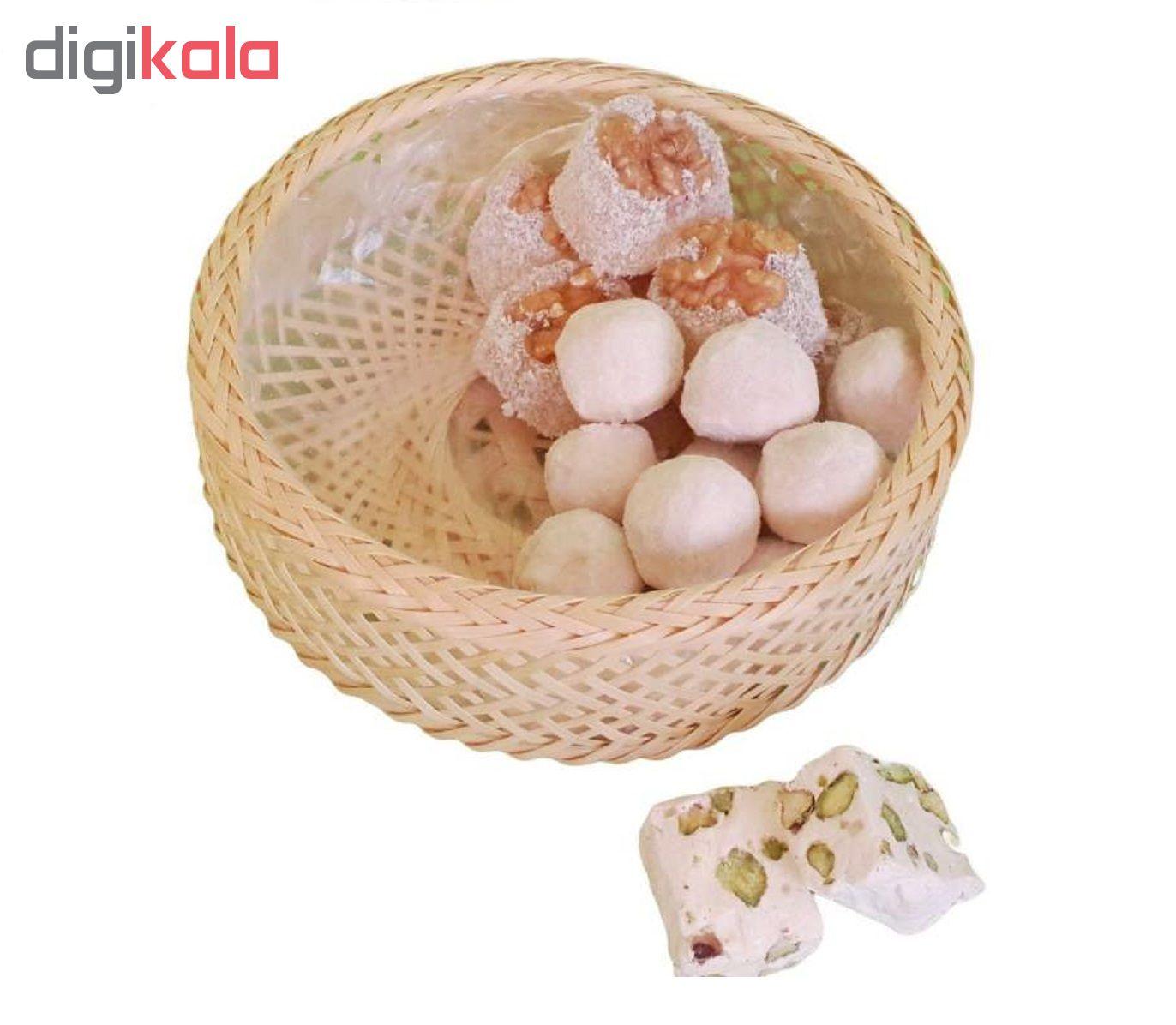 سبد نان و سبزی بامبو آرونی مدل SLOKA