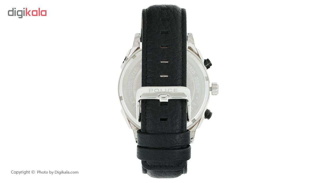 ساعت مچی عقربه ای مردانه پلیس مدل 14338JS-04