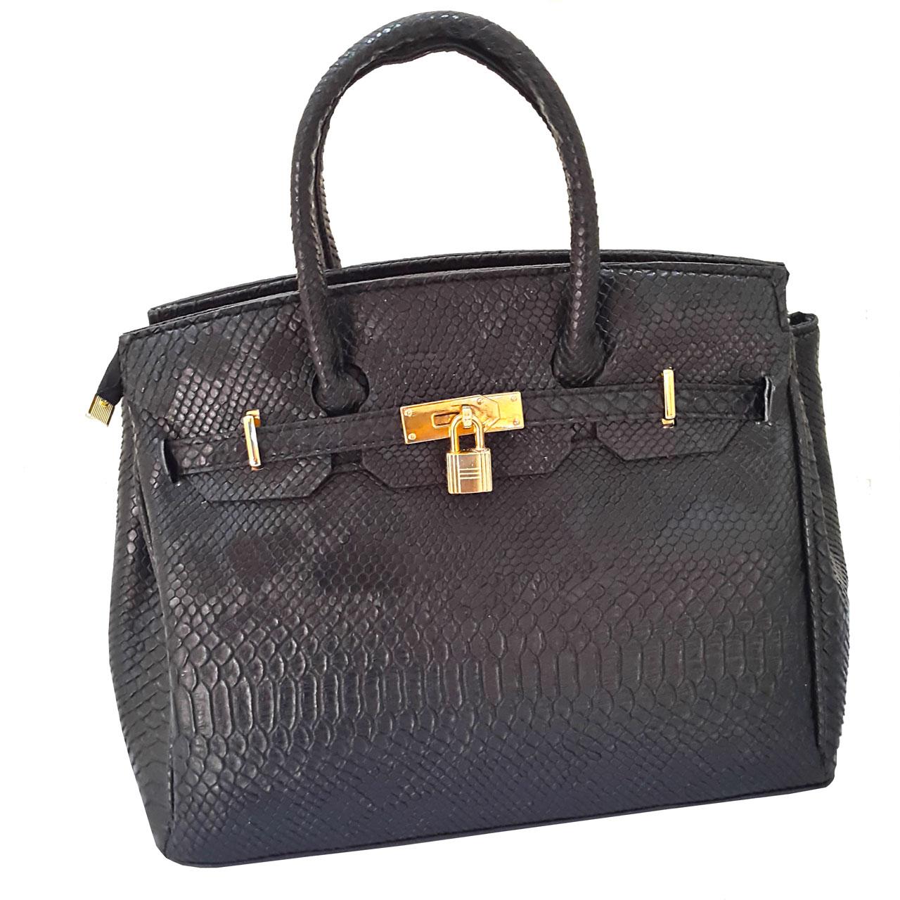 کیف دستی زنانه طرح پوست ماری مدل KRS938