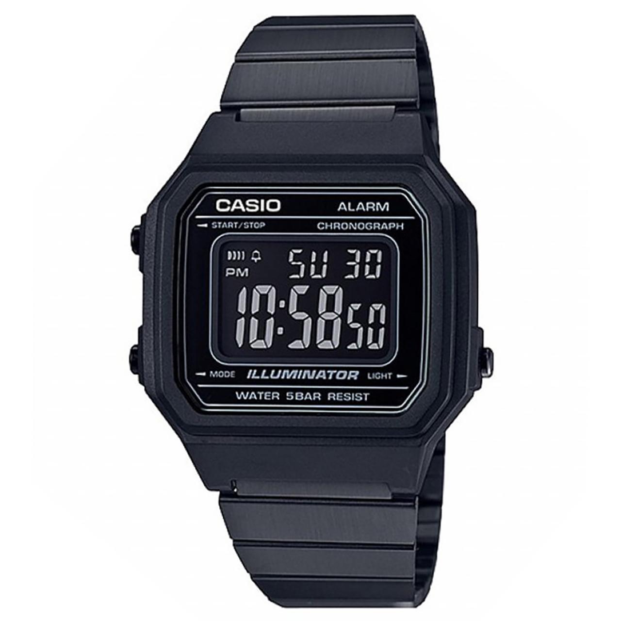 ساعت مچی دیجیتالی کاسیو مدل B650WB-1BDF 4