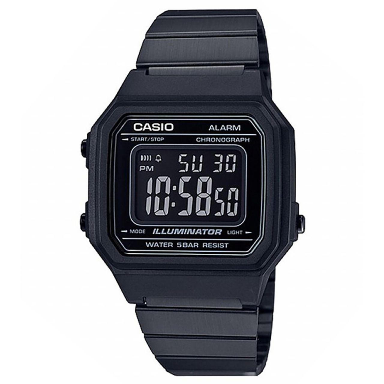 ساعت مچی دیجیتالی کاسیو مدل B650WB-1BDF -  - 2